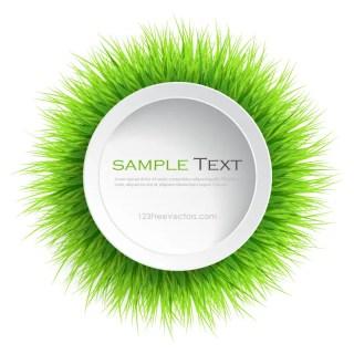 Circle Grass Frame