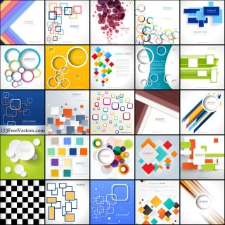 Free Geometric Background Illustrator Vector Pack
