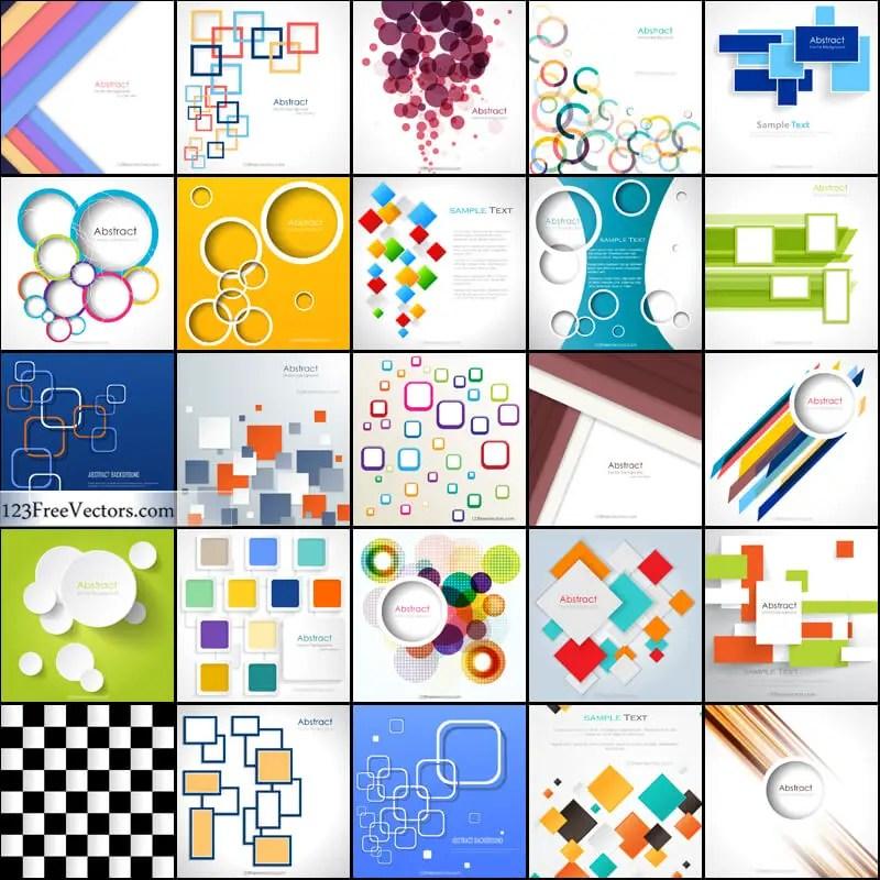Free Geometric Background Illustrator Vector Pack