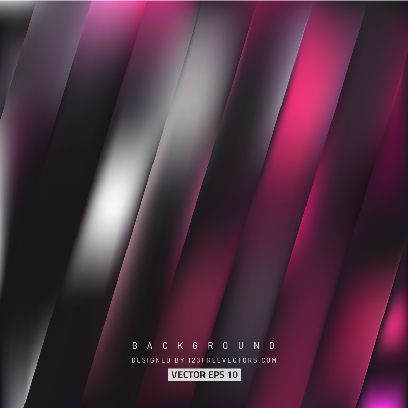 Abstract Black Pink Stripes Background Design