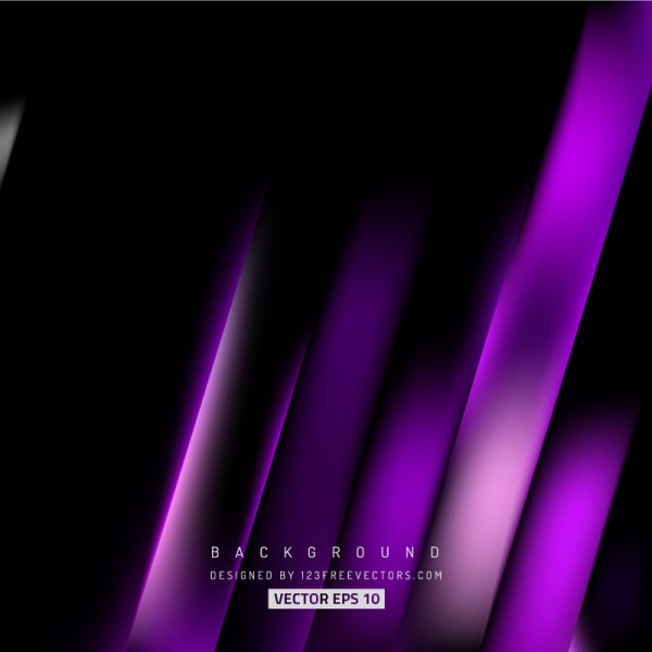 Purple Black Stripes Background Design
