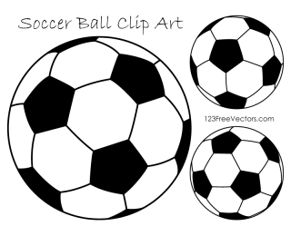 Soccer Ball Clipart Black and White