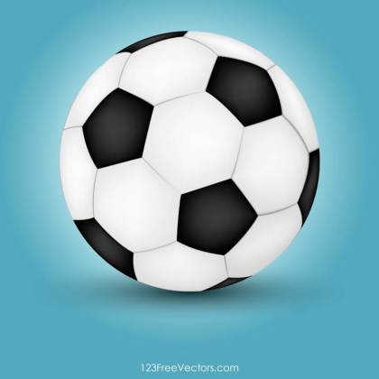 Football Soccer Ball Vector Illustrator