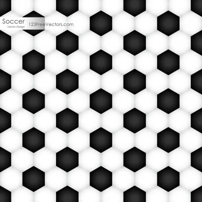 Soccer Ball Texture Background Vector