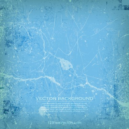 Abstract Grunge Blue Background Free