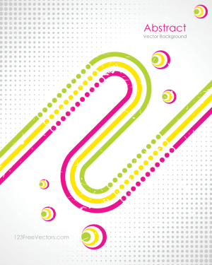 Abstract Retro Background Free