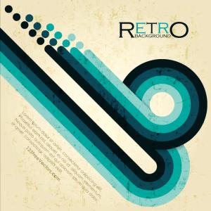 Free Retro Vector Background