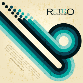 Free Retro Vector Background