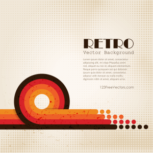 Abstract Retro Background Vintage Graphics