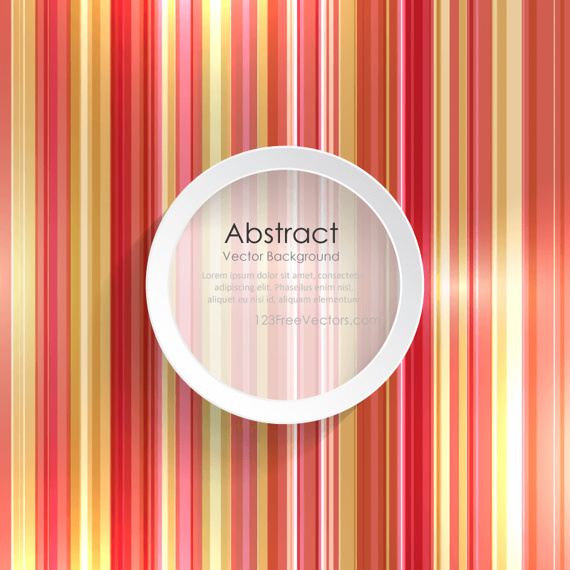 Abstract Striped Background Template