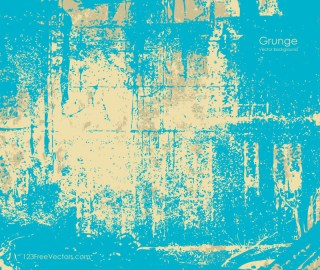 Blue Vintage Grunge Texture Background