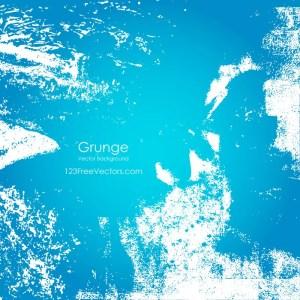 Free Vector Blue Grunge Background