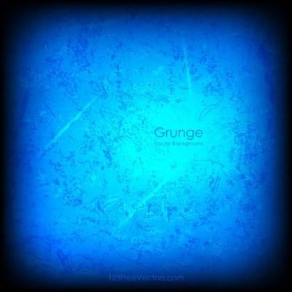 Abstract Dark Blue Grunge Background Image