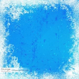 Blue Stripes Grunge Texture Background