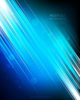 Light Shiny Straight Lines Blue Background Image