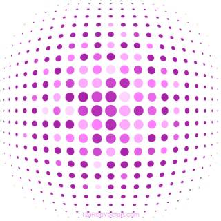 Pink Halftone Background Image