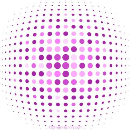 Pink Halftone Background Image