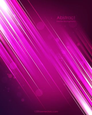 Light Shiny Straight Lines Pink Background