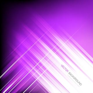 Abstract Straight Lines Purple Background