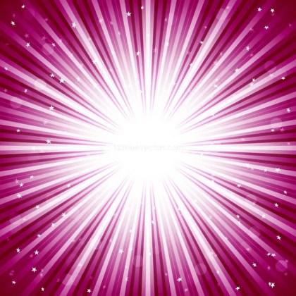 Dark Pink Starburst Background