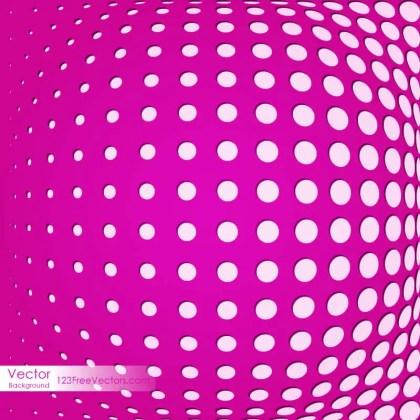 Dark Pink Halftone Background