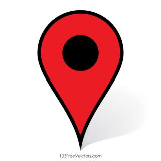 Google Maps Pin Icon