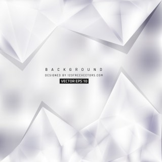 Light Gray Triangle Polygonal Background Design