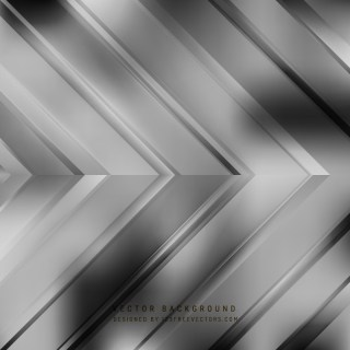 Abstract Dark Gray Arrow Background Design
