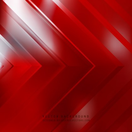 Red Arrow Background Design