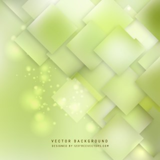 Light Green Square Background Template