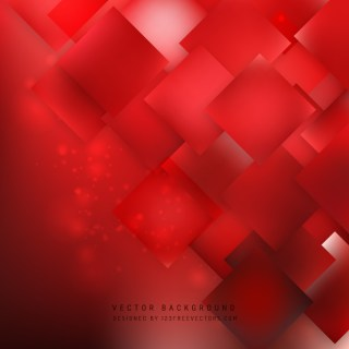 Abstract Red Square Background Template