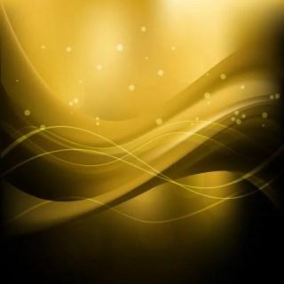 Black Yellow Wave Background Image