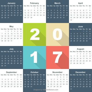 Free Calendar 2017 Download