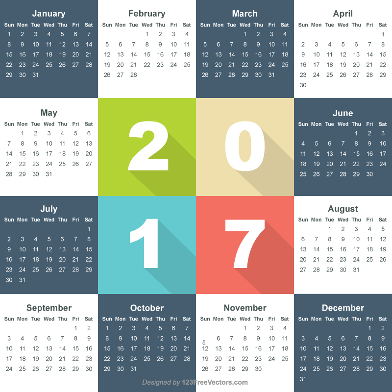 Free Calendar 2017 Download