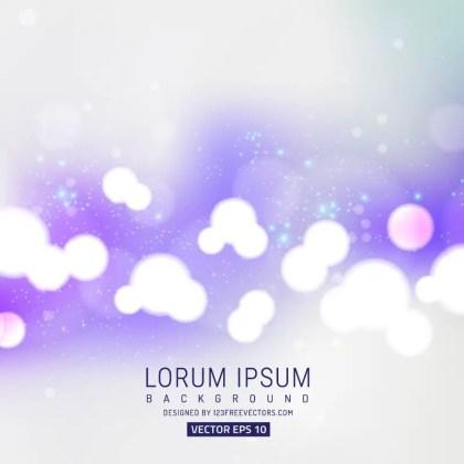 Vector Light Purple Bokeh Background Image