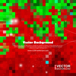 Red Green Square Background Image