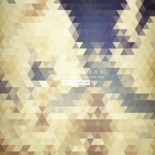 Beige Abstract Triangle Background Design