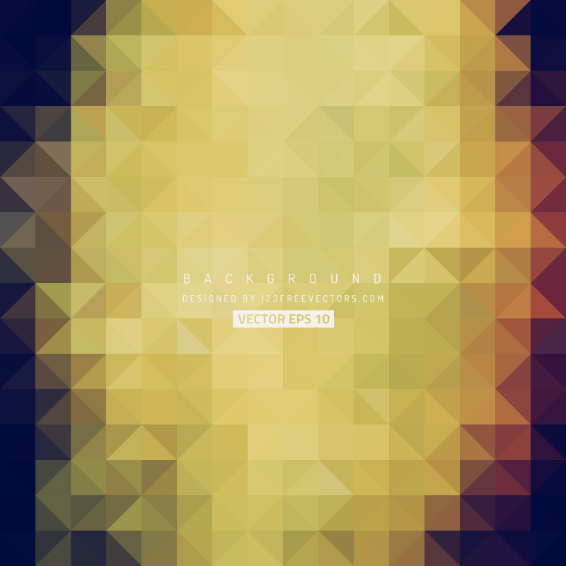 Geometric Triangle Background Clip Art