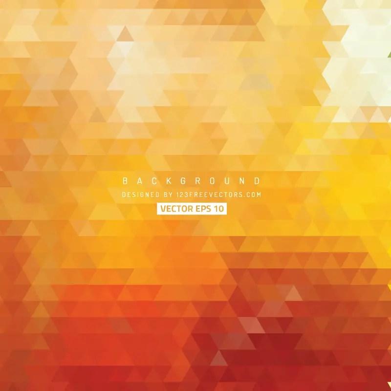 Orange Triangle Background Free