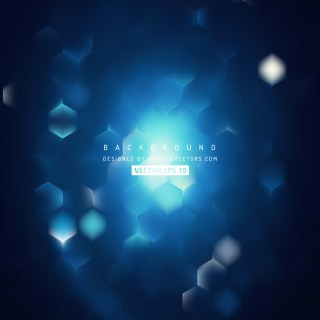 Blue Black Hexagon Background Pattern