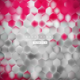 Pink Gray Hexagon Background Pattern