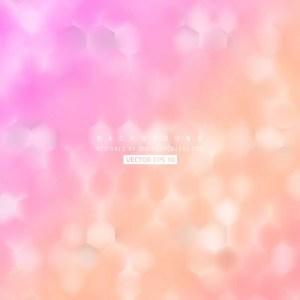 Light Pink Hexagon Geometric Background