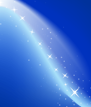 Abstract Magic Blue Background Vector