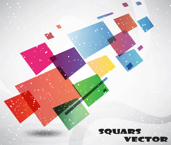 Abstract Squars Vector Free Graphic Background
