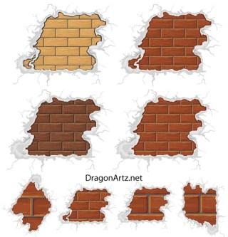 Free Brick Plaster Wall Vector