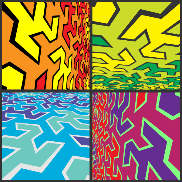 Abstract Pop Art Vector Background Free