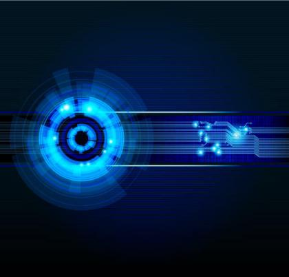 Free Abstract Futuristic Vector Background