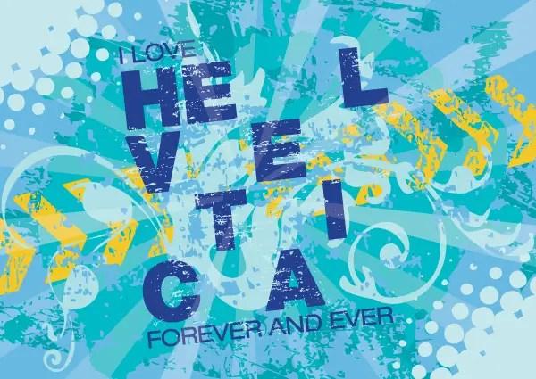Fresh Blue Water Splash Postcard Vector Background