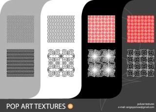 Free Pop Art Vector Texture