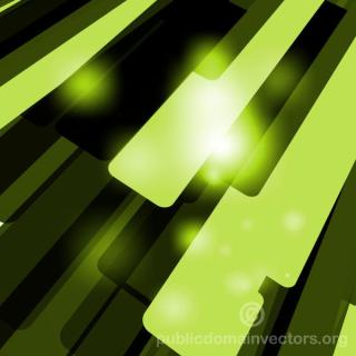 Green Abstract Vector Background Free